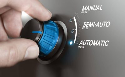 IT process automation concept