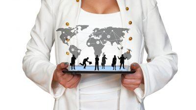 World technology concept