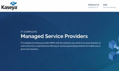 Kaseya complete MSP solution