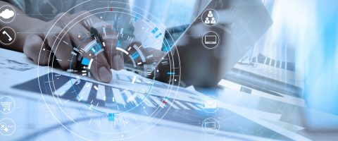 Digital business concept